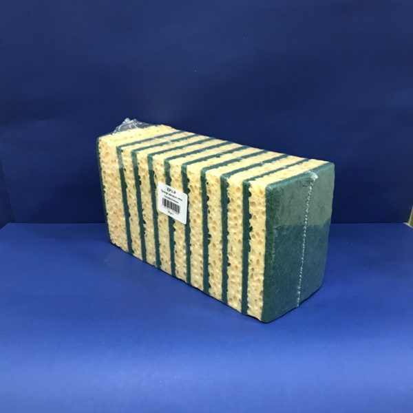 ÉPONGES ABRASIVES MAXI 10 ÉPONGES 8,00€