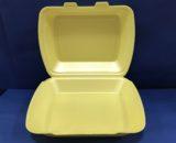 Coquilles Assiettes Polystyrène 1 Compartiments 100 Assiettes