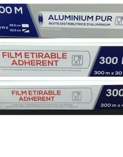 Papiers Aluminium et Film alimentaire