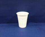 Gobelets Plastiques Blancs/Transparents 18/20 cls 100 Gobelets