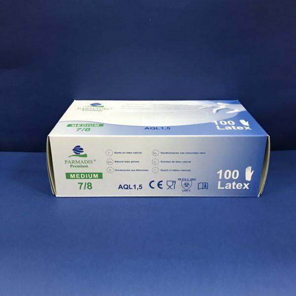 Gants Latex Taille 7-8/Médium 100 Gants