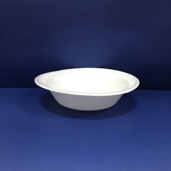 Assiettes Polystyrène Blanches 18 cms Creuse 100 Assiettes