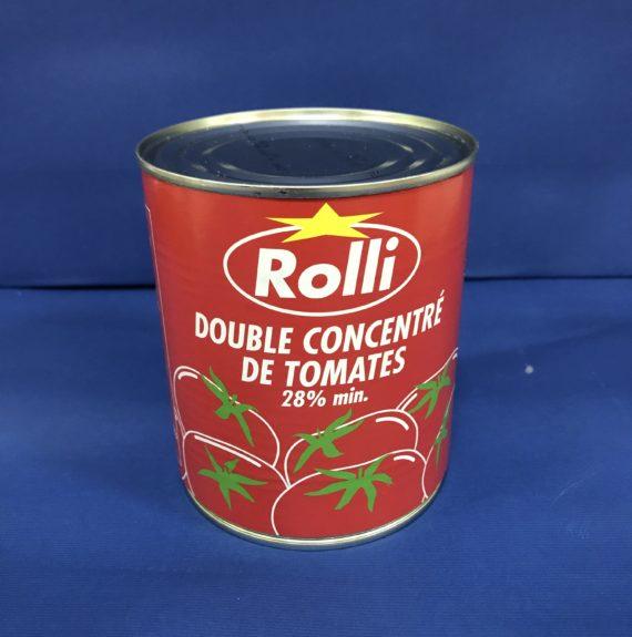 Double Concentrée de Tomates ROLLI 28% 880gms