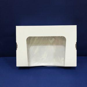 25 Boîtes Pâtisseries/Sushis Fenetré 155x230x45mm en Cartons ST7C 7€