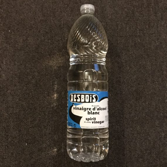 Vinegar d'Alcool Blanc DESBOIS 8% 150 cl