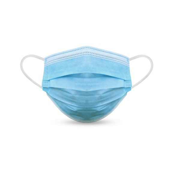 Masques de Protection Jetables 3 Plis Bleu 50 Masques