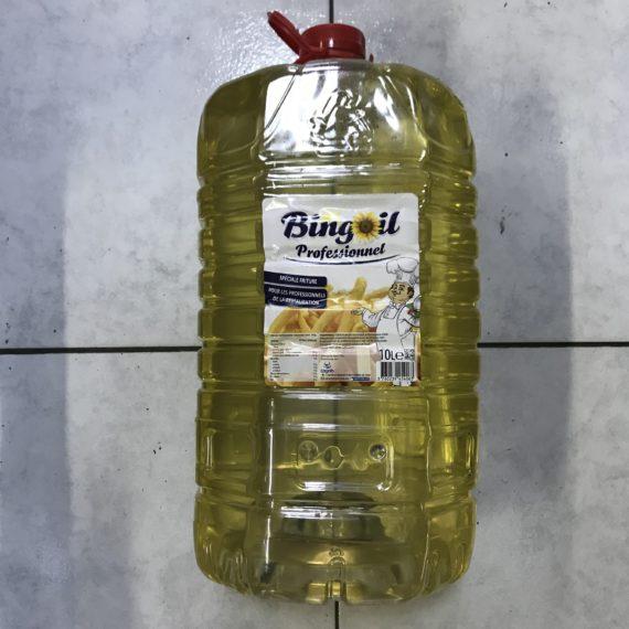 L'Huile de Tournesol BINGOIL Raffinée 10 Lits
