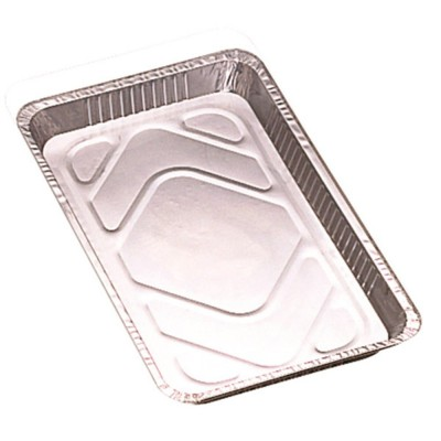 100 Barquettes Aluminium 2170 mls + Couvercles