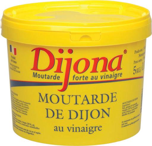 Moutarde Dijon Jardin d'Adrien 5 Lits